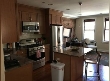 One room in a 2bed 2 bath renovated, fully furnished apt in...