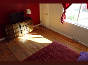 EasyRoommate US - Sunny Large Bedroom in Quiet Safe Neighborhood, Schenectady - $650 /mo