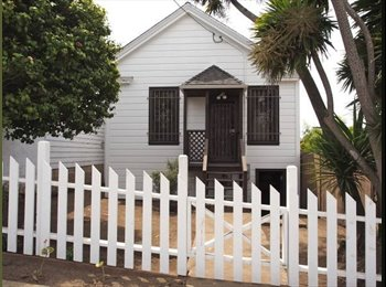 EasyRoommate US - Great furnished private bedroom in well equipped bungalow, San Francisco - $1,500 /mo