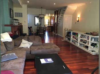 EasyRoommate US - $1220 Room in huge 3 br 2.5 bath - available 9/1 ( (Mt. Vernon Square/Shaw), Washington - $1,220 /mo