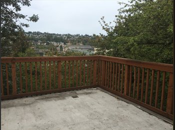 EasyRoommate US - Incredibly gorgeous 2-br,1-ba, 1-mi from Junction, Trader Joes, gyms, Seattle - $1,050 /mo