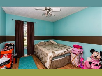 EasyRoommate US - 3 rooms available to rent. LAKE GLORIA PRESERVE home.  , Orlando Area - $600 /mo