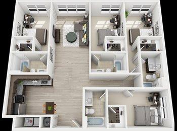 Sublease 4 bedroom Ella Loft Apartment