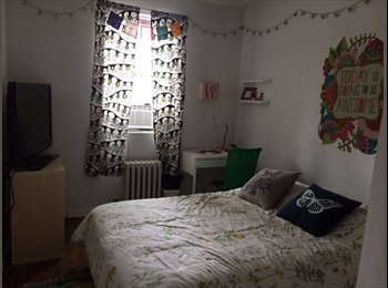 EasyRoommate US - Room available in huge 2nd floor in a 2bed/1bath Apt for female - option to rent furnished, Kings County - $1,400 /mo