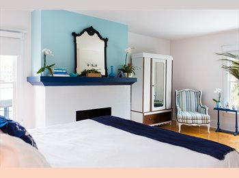 Beautifully furnished bedroom & ensuite bathroom