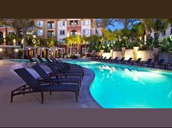 Available room at the Gateway Apartments in Anaheim/ Orange