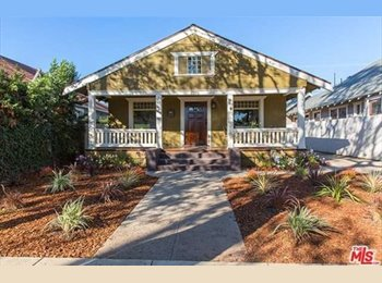 EasyRoommate US - Share newly renovated 3 bedroom house, Los Angeles - $1,600 /mo