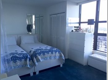 EasyRoommate US - Large Bedroom, En Suite Bath, Large Terrace, Amazing Waterfront View Near Everything, Miami - $1,100 /mo