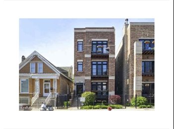 EasyRoommate US - Beautiful 2bed/2bath apartment near Wicker Park , Chicago - $1,300 /mo
