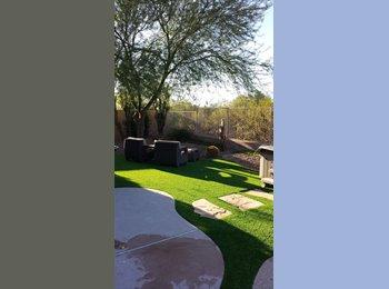 EasyRoommate US - Large modern house with nice relaxing yard, split floorplan. Near horse facilities., Cave Creek - $750 /mo
