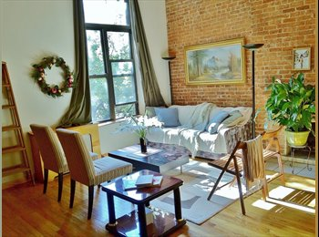 EasyRoommate US - Spacious apt share 1600sq ft, female only, prefer income 70K+, New York - $1,693 /mo