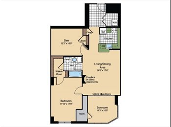 EasyRoommate US - Seeking fun, young professional to fill a sun room in a 3 Bedroom in the Meridian at Gallery Place, Washington - $750 /mo