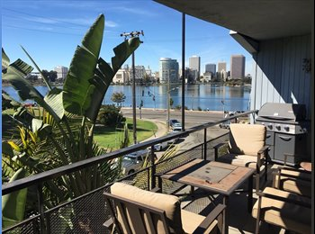 EasyRoommate US - 1 Bdrm available in 2 bed/2 bath Apt w/ Amazing Lake Merritt View, Oakland - $1,750 /mo