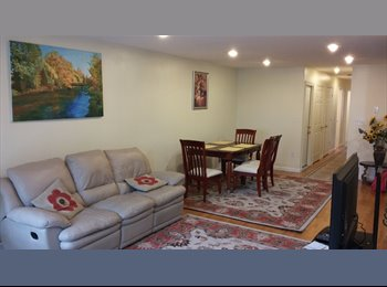 Roommates for large, beautiful apt, fast transport to...