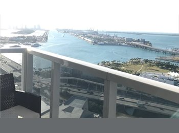 EasyRoommate US - Downtown Miami - 1 Room, Miami - $1,100 /mo