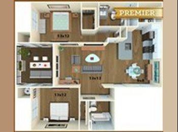 EasyRoommate US - $1150 pm for 1b1b in a 2b2b apartment, San Jose - $1,150 /mo