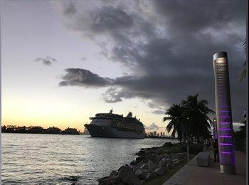 EasyRoommate US - Beach apt, Miami - $1,000 /mo