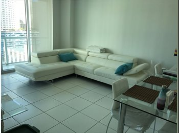 EasyRoommate US - great room in the hart of Brickell, Miami - $1,415 /mo
