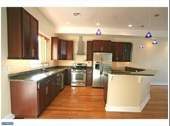 EasyRoommate US - 4 BR luxury town home- Manyunk, Philadelphia - $1,000 /mo
