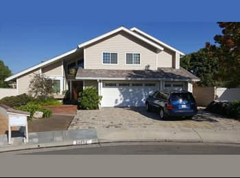 EasyRoommate US - Upstairs Furnished BR, Private Office & Bathroom, Huntington Beach - $1,200 /mo