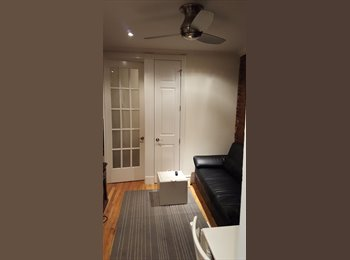 Furnished BR available in newly renovated 2 BR EV apartment
