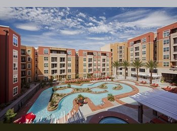 sublease one bedroom of a two bedroom apartment at the...