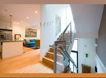 1BR w/ Private Ba in a brand new 4-story house