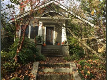 1BDR for rent in Craftsman home in Seattle Central District