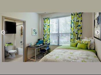 Furnished 1 bedroom 1 bathroom at University House Central...