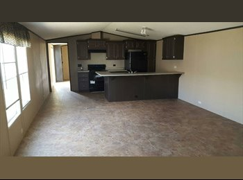 EasyRoommate US - NEW 3bed 2bath 16 x 72 -Single-wide Mobile Home for Rent, Coventry - $980 /mo