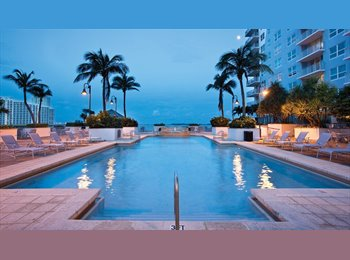 EasyRoommate US - Shared bedroom in Brickell , Downtown - $600 /mo