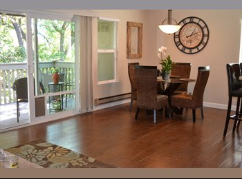 Willow Glen, large master and bath in upgraded, furnished...