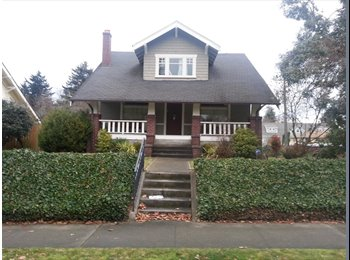 EasyRoommate US - North End Craftsman Bungalow near UPS campus (utilities and internet included), Tacoma - $1,000 /mo