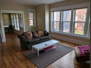 Looking for roommate to share a large, bright 2br 2bth unit...