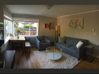 EasyRoommate US - $1150 / 1100ft2 - Alki Duplex - Utilit incl in rent - move in anytime, Alki - $1,150 /mo