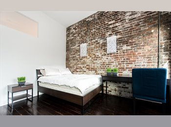 Room In Furnished & Equipped  6 Bedroom, 2 Bath Loft ! Soho...