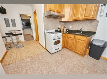 Furnished Room In Spacious 2 Bedroom ! Little Italy !