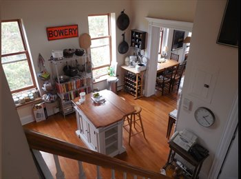 EasyRoommate US - Gorgeous Brooklyn Duplex, Prospect Heights - $1,600 /mo