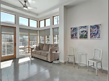 EasyRoommate US - Roomate wanted  modern high end 2/2 East Side/DT - close to all the action in Austin, Holly - $1,090 /mo