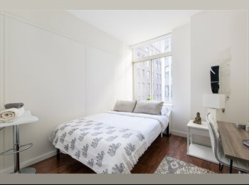 Rooms available in newly renovated apartment in luxury...