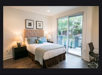 EasyRoommate US - Brand New Furnished One-bedroom with a Cozy Spacious Patio Near UCLA, Sawtelle Japantown - $1,650 /mo