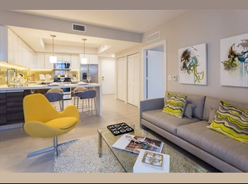 EasyRoommate US - Need Roommate for Upscale Downtown/Brickell Apartment, Downtown - $1,300 /mo