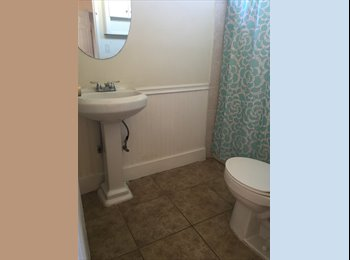 Private bathroom. and includes driveway parking