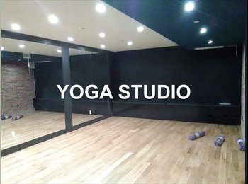 Amazing room in a 3 br apt~gym~rooftop~yoga studio~must see...