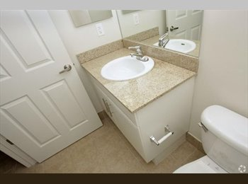 Clean Furnitured Room and private Bathroom