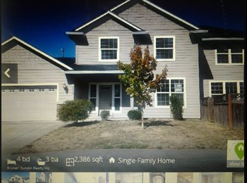 1-2 rooms to rent in a fairly newer home