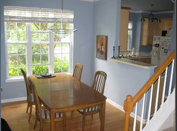 Looking for new roommate in gorgeous townhouse