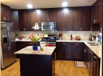 1 BR available in great 3 BR 2Bath in Logan Square....