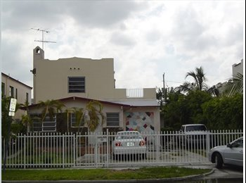 House to Share in South Beach at Lincoln Rd.