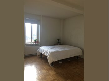 Large east village bedroom with plenty of sunlight